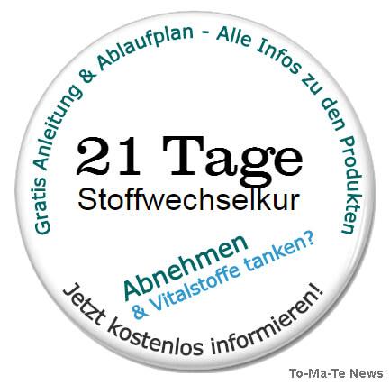 21 Tage Stoffwechselkur Anleitung, Ablaufplan und Infos