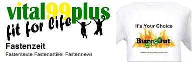 Vital99plus Fastenzeit Infos zu Fasten und Fastenwandern